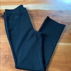 NYDJ 5 pocket Ponte Legging Black  size 2Petite